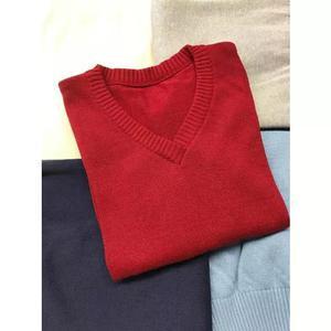 Suéters/blusões de malha personalizados p/uniformes