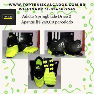 Tênis adidas springblade drive 2 s.e.n.s.a.c.i..o.n.a.l