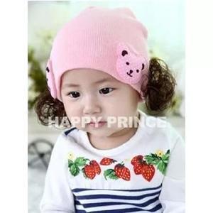 Touca gorro gorrinho criança bebê infantil luxo varias
