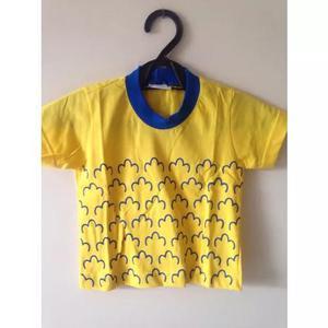 Uniforme Camisetas Pequeno Principe Tam 00 A 08 Anos Queima