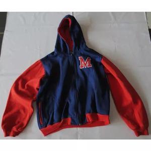 Uniforme mackenzie casaco agasalho t 12 com capuz