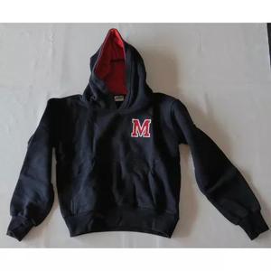 Uniforme mackenzie casaco agasalho t 8 com capuz