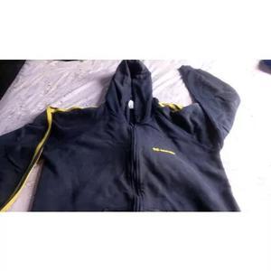 ab0108ded4 Uniforme usado col.objetivo - casaco frio tam. g ler o anunc