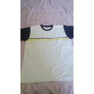 Uniformes usados objetivo camiseta manga curta usada g