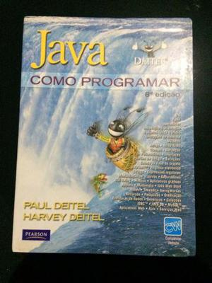 Vendo livro java deitel como programar 8 edição