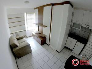 Apartamento com 1 quarto para alugar, 26 m² por r$ 990/mês