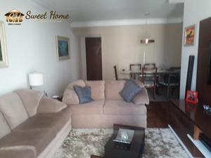 Apartamento com 3 quartos para alugar, 98 m² por r$