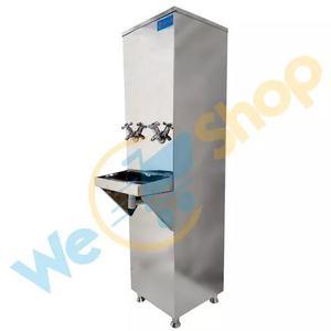 Bebedouro industrial coluna aço inox 25 litros filtro