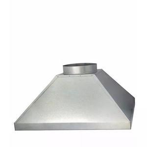 Coifa galvanizada para churrasqueira 50x70 cm