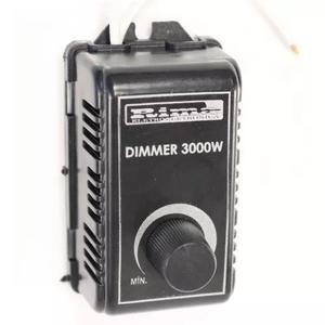 Controlador dimmer dimer rotativo 3000w bivolt 110v 220v