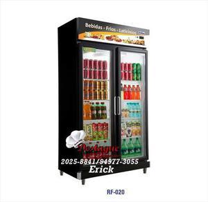 Expositor vertical geladeira 2 portas vidro duplo frilux -