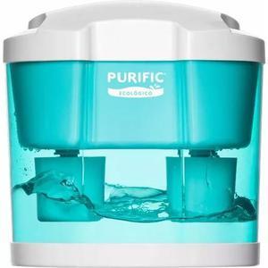 Filtro de água purific ecológico verde r/ vida p/