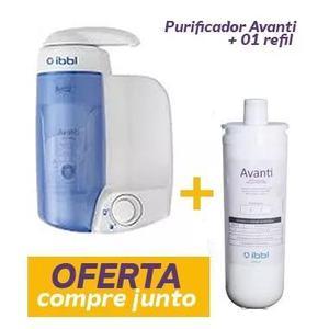 Filtro purificador de água avanti ibbl + refil extra oferta