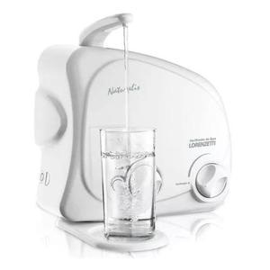 Filtro purificador de água lorenzetti naturalis branco