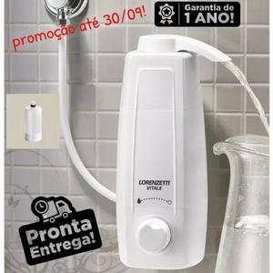 Filtro purificador água +1 refil vitale lor