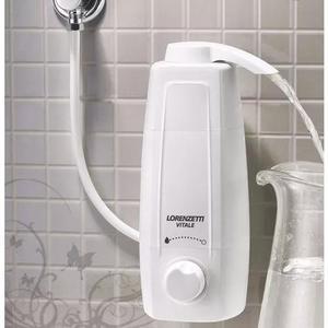 Filtro purificador água vitale lorenzetti parede e mesa