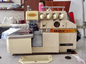 Maquina de costura industrial interlock overlock gemsy