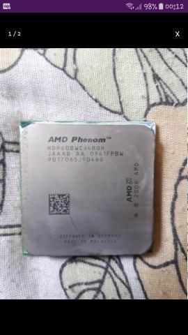 Processador amd phenom x4 9600 2.3 ghz