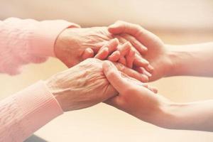 Promoção cuidadora de idosos