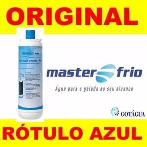 Refil filtro purificador de água masterfrio original azul