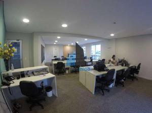 Sala comercial para alugar, 127 m² por r$ 7.500/mês