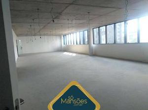 Sala comercial para alugar, 202 m² por r$ 8.000/mês