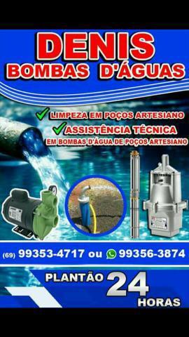 Serviços em bombas d'água poços artesiano