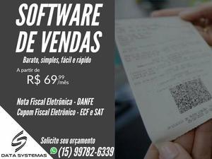 Software emissor sat fiscal e nota fiscal (danfe)