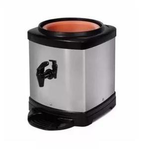 Suporte para galão de água mineral 10/20 inox e cerâmica