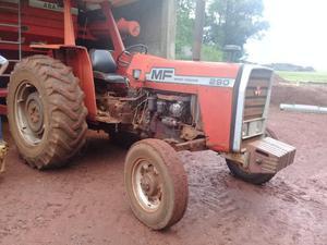 Trator mf 290 ano 84 2 alavanca, pesado