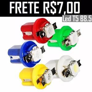 10unida lâmpada painel t5 b8.5 led smd 5050 suporte
