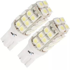 2 lampadas pingo t10 28 leds xenon meia luz farolete