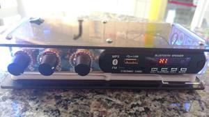 Amplificador Som Ambiente Bluetooth Música Orion