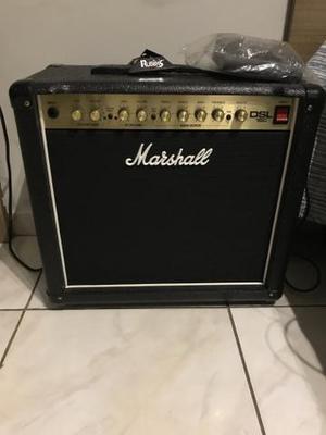 Amplificador guitarra valvulado marshall dsl15