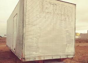 Baú aluminio 7,20 metros para caminhão toco