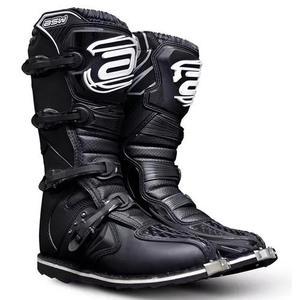 Bota asw imp. preta importada motocross / trilha / offroad