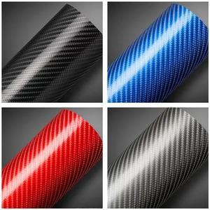 Envelopamento fibra de carbono 4d 1 mt x 30cm colorido