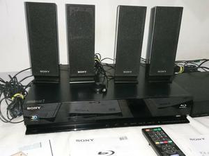 Home theater com blu-ray sony bdv-e 370. e sistema sem fio