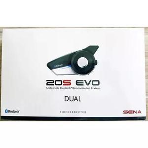 Intercomunicador sena 20s evo-01d dual pack ios+android