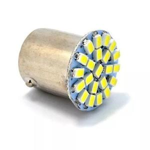 Kit 50 lampada led 1 polo ré lanterna 22 leds 12 volts