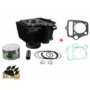 Kit cilindro motor 75 cc shineray/ trax/ jonny / zig + junta