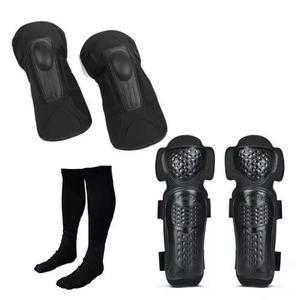 Kit cotoveleira e joelheira pro tork + meião preto