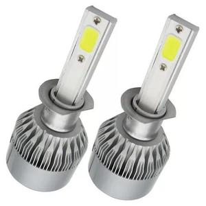 Kit lampada led automotivo h3 72w 6000k 8200l super branca