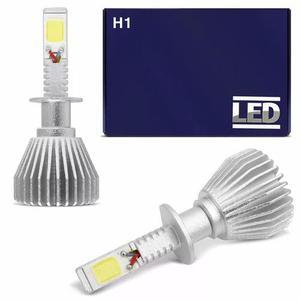 Kit super led lampada h1 6000k super branca 6400 lumens