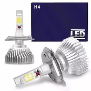 Kit super led lampada h4 6000k super branca efeito xenon
