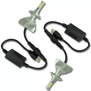 Kit super led lampada h7 6000k par 4400 lumens com reator