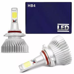 Kit super led lâmpada hb4 6000k 12v 24v 35w 6400lm branca