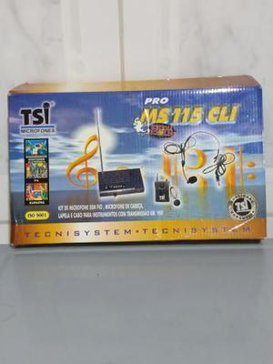 Kit de microfone sem fio de cabeça