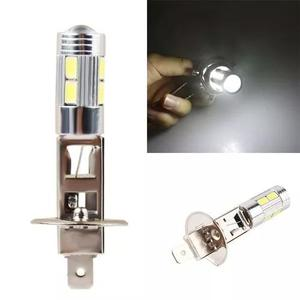 Lampada h1 led super branca farol milha - pronta entrega