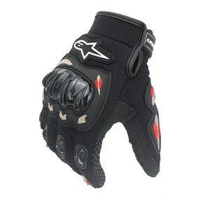 Luva motociclistas alpinestars com protetor